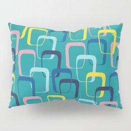 Retro Squares Pillow Sham
