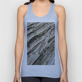 Bark on a Downed Tree Unisex Tank Top