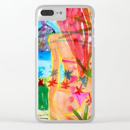 Koh pipi island in Thailand Clear iPhone Case
