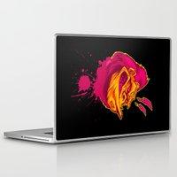 ape Laptop & iPad Skins featuring SHREWD APE by BeastWreck