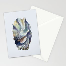 Shell watercolor illustration 2 Stationery Cards