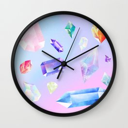 precious stones Wall Clock
