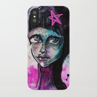 sister iPhone & iPod Cases featuring SIsTeR by SannArt