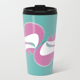 Skunk Le Pink (c) 2017 Metal Travel Mug