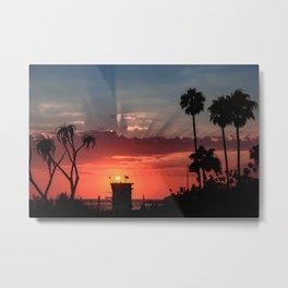 Laguna Sunset Metal Print