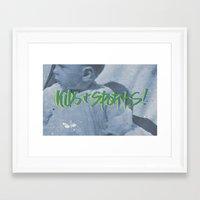 sports Framed Art Prints featuring KIDS & SPORTS! by Josh LaFayette