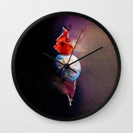 Walk Of Day & Night Wall Clock