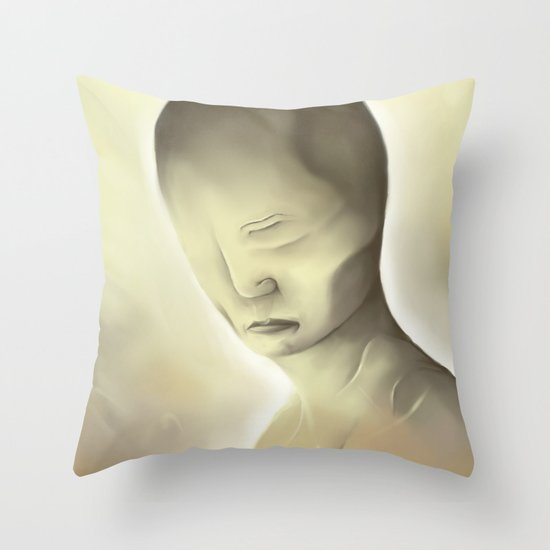 Disfigure Throw Pillow