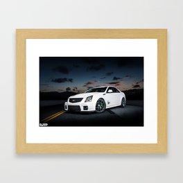 CTS-V Night Framed Art Print