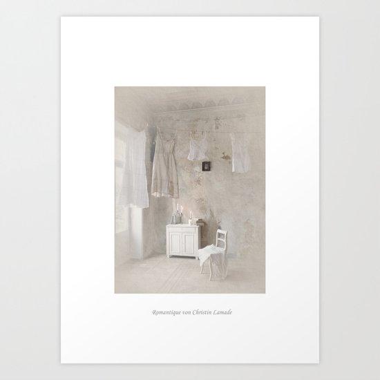 Romantique Art Print