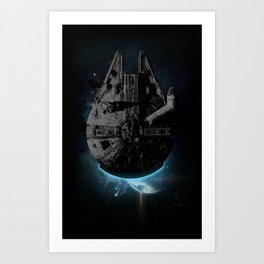 Stealth Falcon Art Print