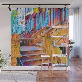 New York City Steps Wall Mural