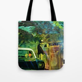 A Nightly Pull Over:The Casual Affair Tote Bag