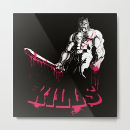 The Wrong Mexican Metal Print