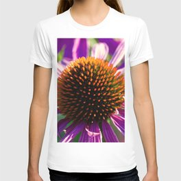 Hedgehog Flower Power T-shirt