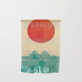 The ocean, the sea, the wave Wall Hanging
