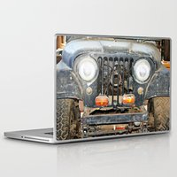jeep Laptop & iPad Skins featuring Willie Jeep by Urlaub Photography
