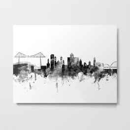 Middlesbrough England Skyline Metal Print
