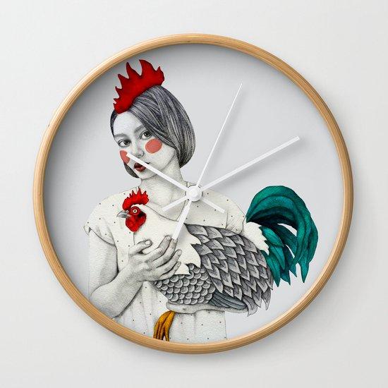 Sleek Gada  Wall Clock