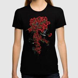 Rose skull girl T-shirt