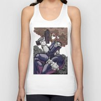 punisher Tank Tops featuring The PuniSher  by DaCreativeGenius