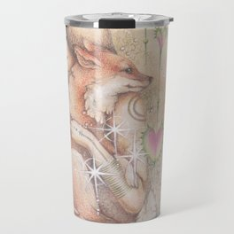 Darling Fox and me Travel Mug