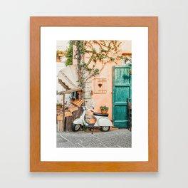 Naples Framed Art Print