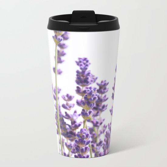 Purple Lavender #1 #decor #art #society6 Metal Travel Mug