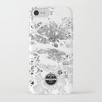 stockholm iPhone & iPod Cases featuring STOCKHOLM by Maps Factory