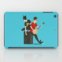tegan and sara iPad Cases featuring Tegan and Sara: Bategan and Sarobin by Cas.