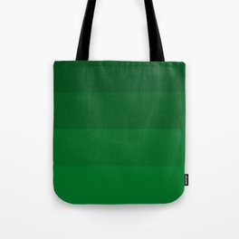 Rich Forest Evergreen Stripes Ombre Tote Bag