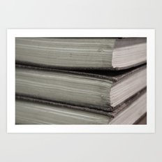 Hard Bound Pages  Art Print