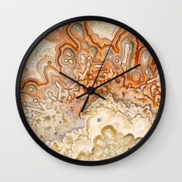 Crazy Lace Agate 2 Wall Clock