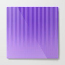 Gradient Stripes Pattern ip Metal Print