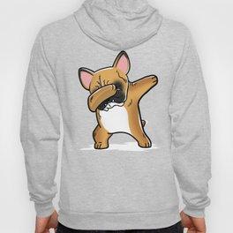 Funny Fawn French Bulldog Dabbing Hoody