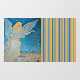 Bless me | Guardian Angels are Here | Angel of Abundance | Love Rug