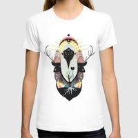 santa T-shirts featuring SANTA by Alba Blázquez