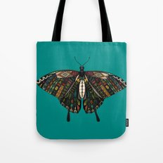 swallowtail butterfly teal Tote Bag