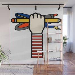 Doodler Sketchnoter Pin Wall Mural