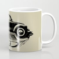 vw Mugs featuring VW Ying and Yang by Vin Zzep