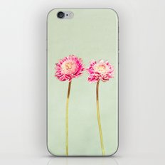Flowers Two by Two iPhone & iPod Skin