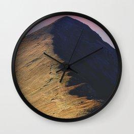 Ridgeline Wall Clock