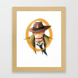 LUPIN III Framed Art Print