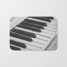 Vintage piano Bath Mat