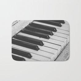 Vintage piano Bath Mat