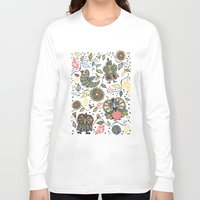 woodland Long Sleeve T-shirts featuring Woodland by Sarah Doherty