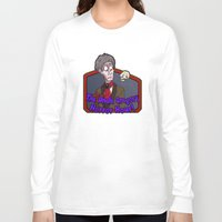 greg guillemin Long Sleeve T-shirts featuring Greg and Chant by UncleGregory