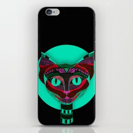 Black CAT- Black iPhone Skin