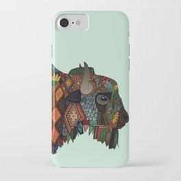 bison mint iPhone Case