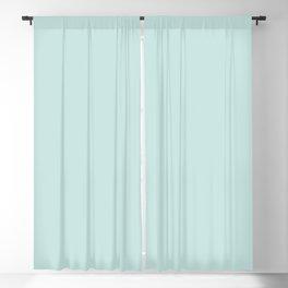 Blue Sea Glass Blackout Curtain